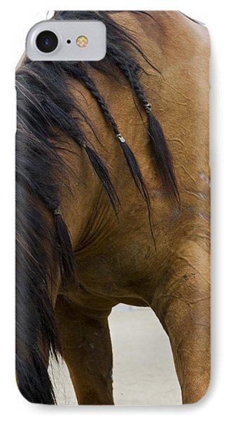 IPhone Case featuring the photograph War Horse by Lorraine Devon Wilke