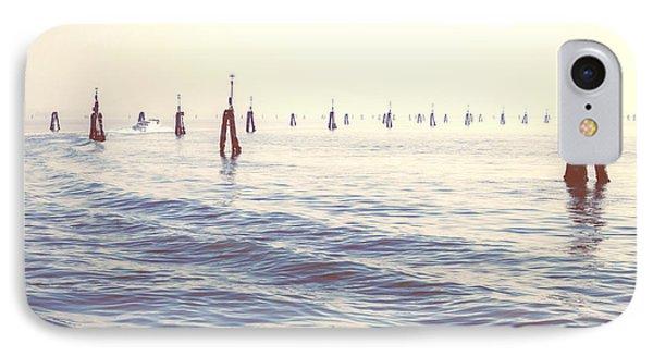 Waterway In The Lagoon Of Venice Phone Case by Joana Kruse