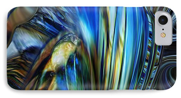 IPhone Case featuring the digital art Wealth Weary by Steve Sperry