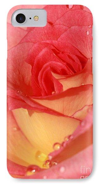 Wet Rose Phone Case by Sabrina L Ryan