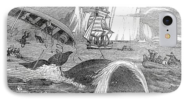 Whaling, 1833 Phone Case by Granger
