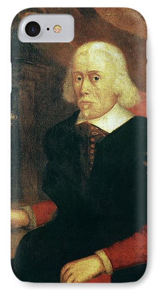 William Harvey, English Physician IPhone Case by