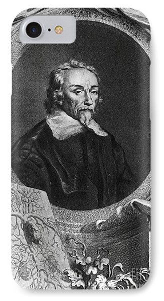 William Harvey, English Physician Phone Case by Photo Researchers