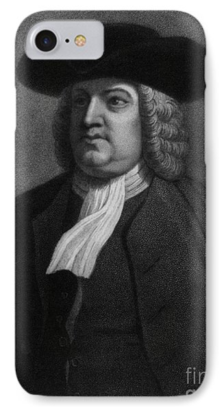 William Penn, Founder Of Pennsylvania Phone Case by Photo Researchers