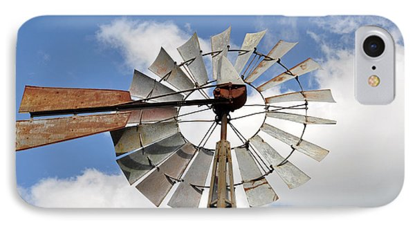 Windmill Phone Case by Teresa Blanton