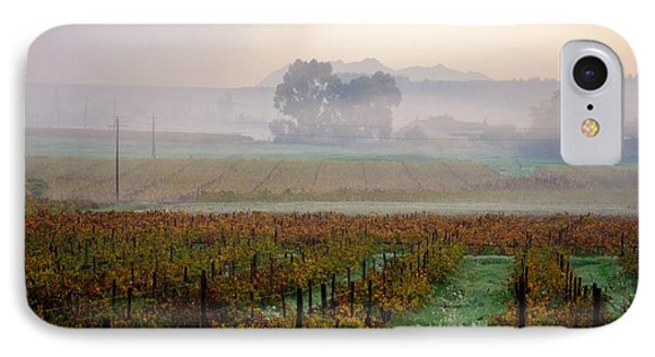 IPhone Case featuring the photograph Wine Field by Werner Lehmann