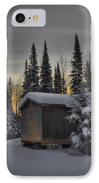 Winter Solitude Phone Case by Heather  Rivet