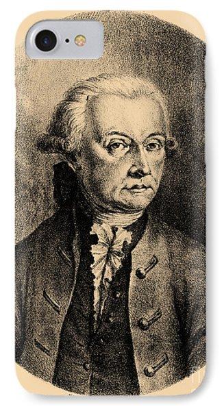 Wolfgang Amadeus Mozart, Austrian Phone Case by Photo Researchers, Inc.