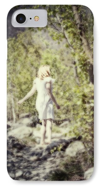 Woman In A Forest Phone Case by Joana Kruse