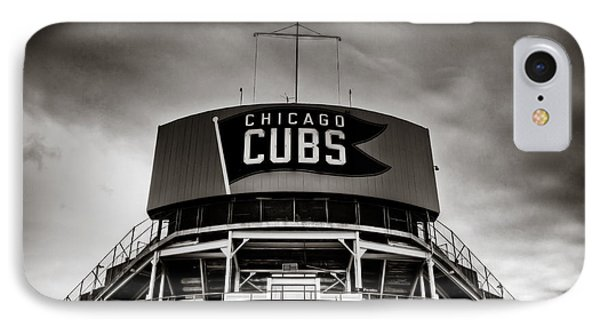 Wrigley Field Bleachers In Black And White IPhone Case