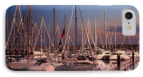 Yacht Marina Phone Case by Carlos Caetano