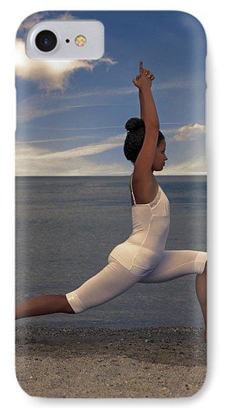 Yoga Phone Case by Joana Kruse
