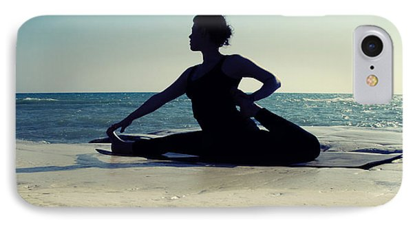 Yoga IPhone Case by Stelios Kleanthous