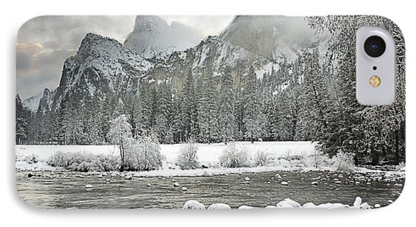 Yosemite National Park, California, Usa Phone Case by Robert Brown