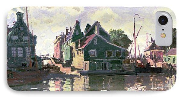 Zaandam Phone Case by Claude Monet