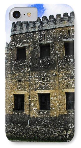 Zanzibar Old Fort Phone Case by Darcy Michaelchuk