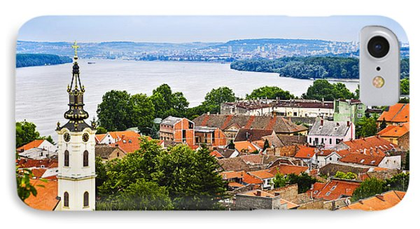 Zemun Rooftops In Belgrade IPhone Case by Elena Elisseeva