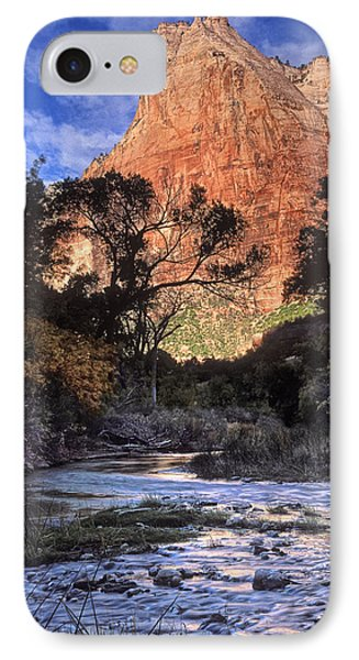 Zion National Park View Phone Case by Dave Mills