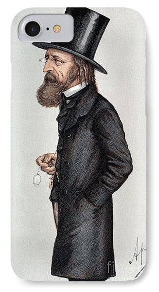 Alfred Tennyson (1809-1892) Phone Case by Granger