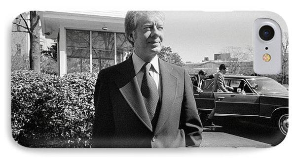 Jimmy Carter (1924- ) Phone Case by Granger