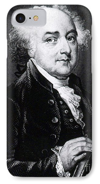 John Adams, 2nd American President IPhone Case by Photo Researchers