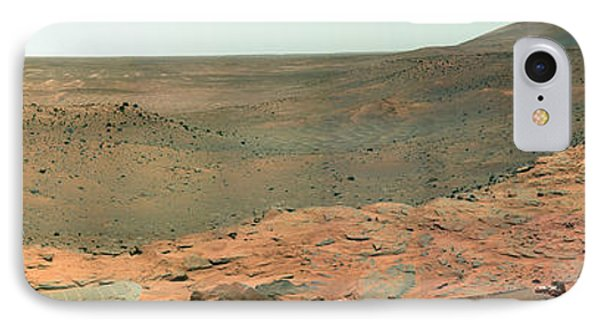 Panoramic View Of Mars Phone Case by Stocktrek Images