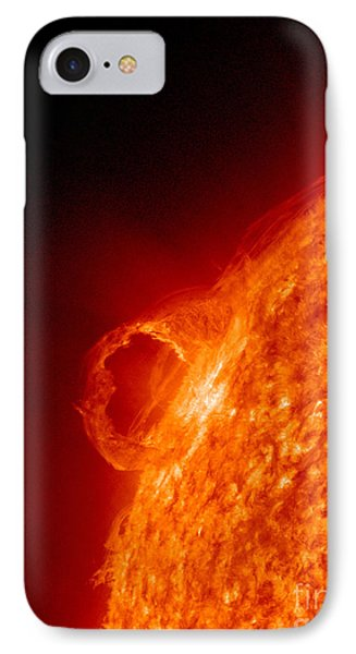 Solar Prominence Phone Case by Science Source