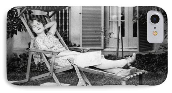 Silent Film Still: Woman Phone Case by Granger