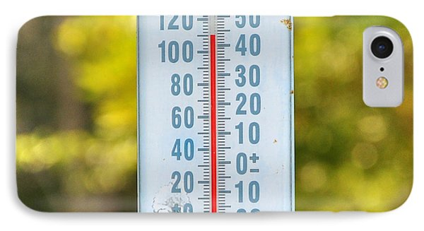110 Degrees In The Shade Phone Case by Al Powell Photography USA