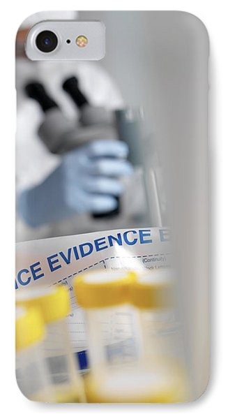 Forensic Evidence Phone Case by Tek Image