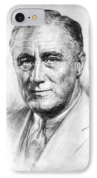 Franklin Delano Roosevelt Phone Case by Granger