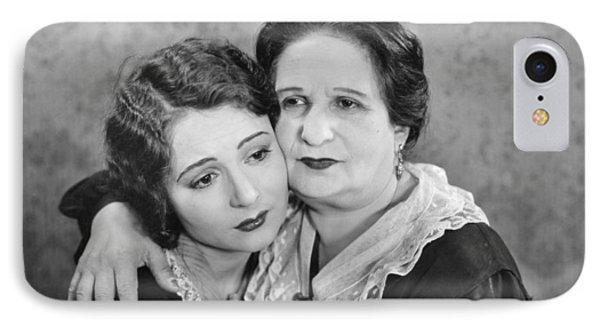 Silent Film Still: Women Phone Case by Granger