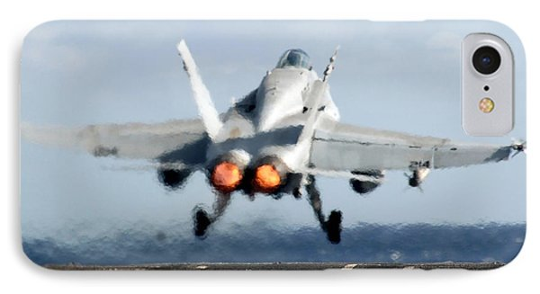 An Fa-18c Hornet Launches Phone Case by Stocktrek Images