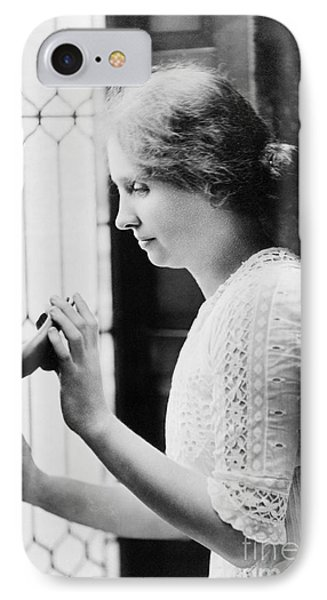 Helen Adams Keller Phone Case by Granger