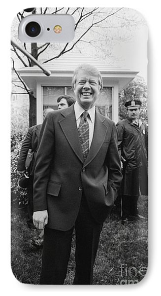 Jimmy Carter (1924- ) Phone Case by Granger