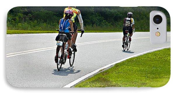 Bicycle Ride Across Georgia Phone Case by Susan Leggett