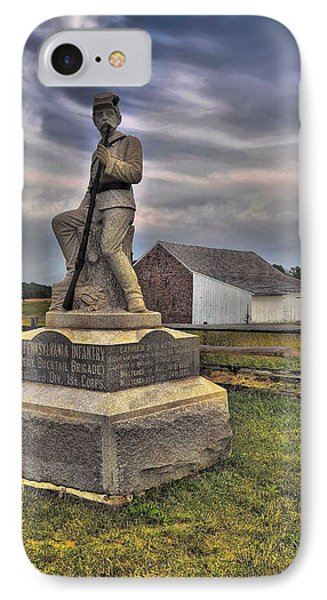 149th Pennsylvania Infantry Phone Case by Dave Sandt