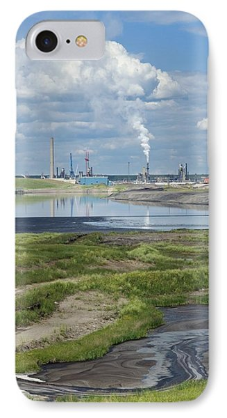 Oil Industry Pollution IPhone Case