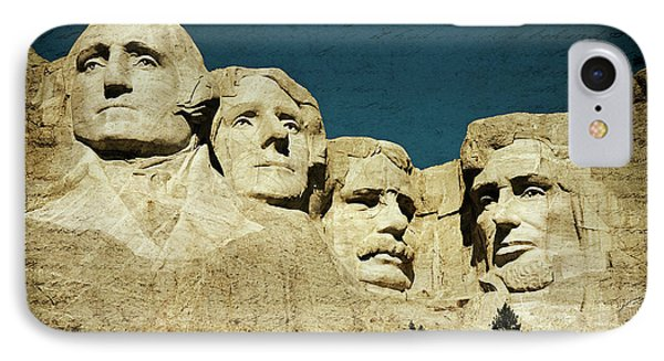 150 Years Of American History IPhone Case by Lana Trussell