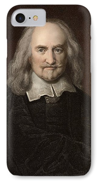 1660 Thomas Hobbes English Philosopher Phone Case by Paul D Stewart