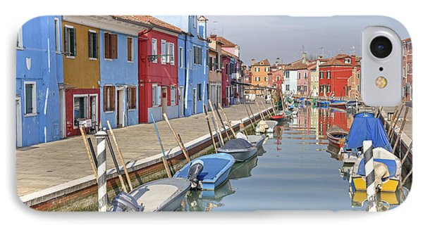 Burano Phone Case by Joana Kruse