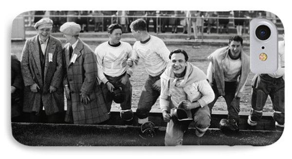 Silent Film Still: Sports Phone Case by Granger