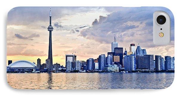 Toronto Skyline IPhone Case