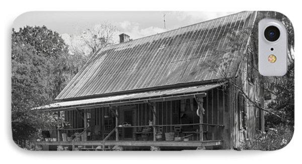 1850's Florida Cracker Farmhouse Phone Case by Lynn Palmer