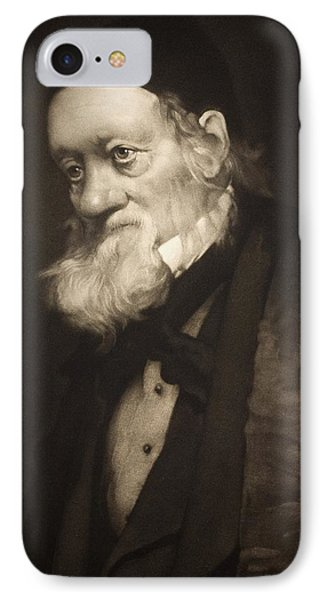 1889 Sir Richard Owen Portrait Old Age Cu Phone Case by Paul D Stewart