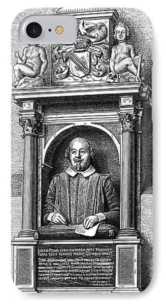 William Shakespeare Phone Case by Granger
