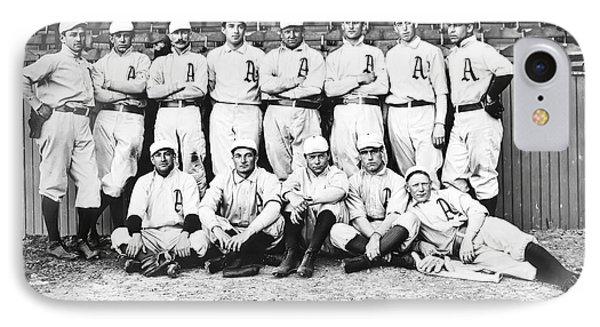 1902 Philadelphia Athletics IPhone Case by Bill Cannon
