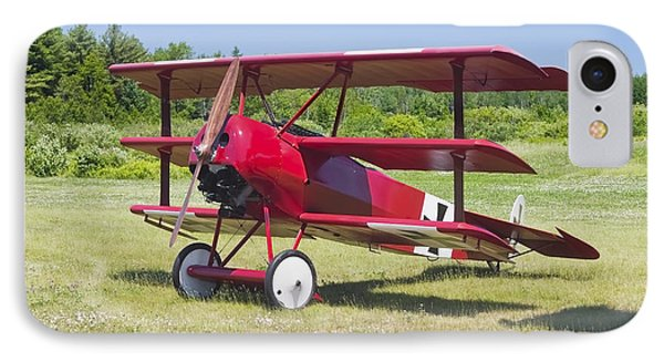 1917 Fokker Dr.1 Triplane Red Barron Canvas Photo Print Poster IPhone Case