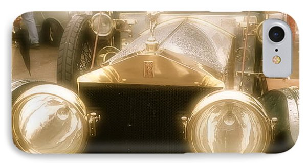 IPhone Case featuring the photograph 1920s Rolls Royce Detail by John Colley