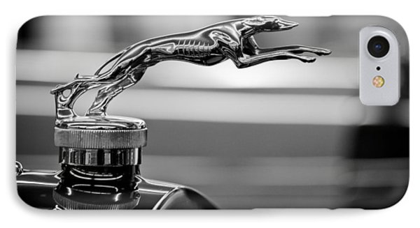 1925 Lincoln Town Car Hood Ornament IPhone Case